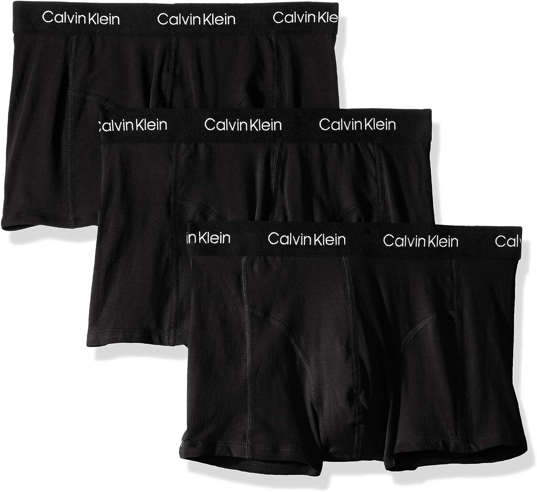 Calvin Klein Men's Underwear CK Axis 3 Pack Trunks