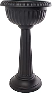 Best black plastic outdoor planters Reviews