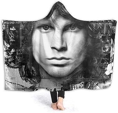 RobertAGonzalez Jim Morrison Super Soft Throw Blanket Lightweight Warm Elegant Cozy Microfiber Blanket for Couch Bed Chair