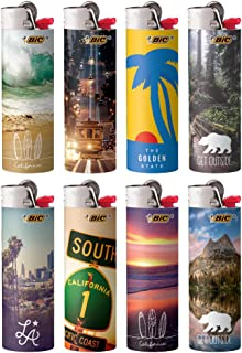 BIC Special Edition California Series Lighters, Set of 8 Lighters