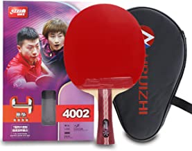 DHS 4-Star Premium Table Tennis Racket Ping Pong Paddle Blade Inverted Rubber