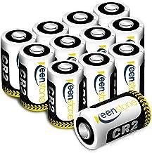 CR2 3V Pilas, keenstone 12PCS 850mAh Metal de Litio batería CR2 3V - para la Linterna cámara Digital videocámara Juguetes antorcha, No Recargable (CR2 3V 12PCS)