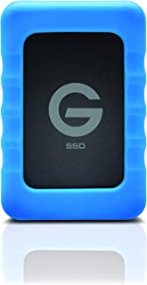 G-Technology 500GB G-DRIVE ev RaW SSD Portable External Storage with Removable Protective Rubber Bumper - USB 3.0-0G04755-1