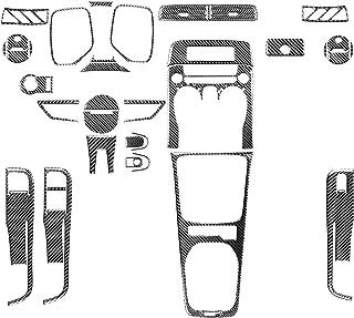NCUIXZH Acessórios de fibra de carbono para automóveis Decoração de interiores Adesivo Decalque modificado para Camaro, pa...