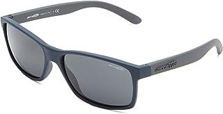 Men's An4185 Slickster Rectangular Sunglasses