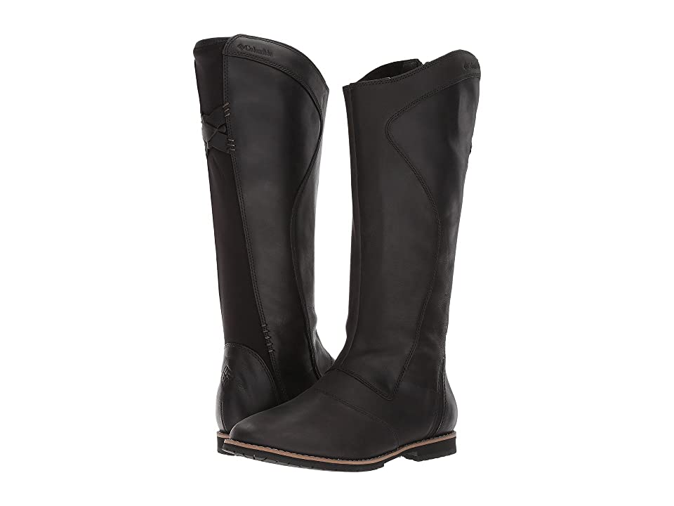 Columbia Twentythird Ave WP Tall Boot (Black/Mud) Women