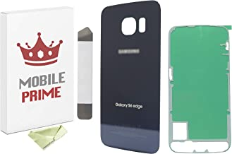 Samsung Galaxy S6 All Carriers Blue G920 Back Glass Panel Cover Case Housing with Opening Tools Kit LUVSS Rear Glass Replacement for