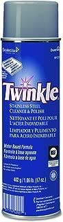 Twinkle 991224 Stainless Steel Cleaner & Polish, 17oz Aerosol (Case of 12)
