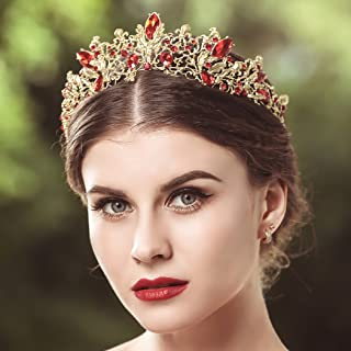 Best red and gold crown Reviews