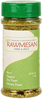 Vegan Nutritional Yeast Seasoning, Gopal's Rawmesan Herb & Spice (Parmesan Cheese Alternative) – 4 Ounces   Keto, Whole 30, and Paleo Friendly