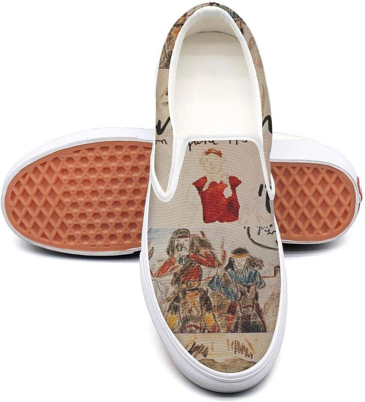Uter ewjrt Young Women John-Lennon-Walls-and-Bridges- Fashion Running shoes Canvas Training Sneaker