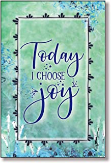 Today I Choose Joy Wood Plaque with Inspiring Quotes 6