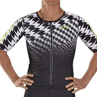 Zoot Men's Ultra Short Sleeve Aero Tri Jersey - High Performance Triathlon Jersey