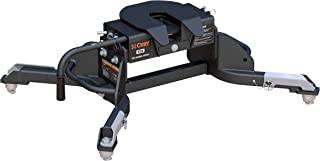 CURT 16041 Black E16 5th Wheel Hitch for Ram Puck System, 16,000 lbs