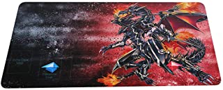 MPCGM Yu Gi Oh Yugioh Playmat Red Eyes Darkness Dragon CCG TCG Mat Gaming Play Mat Yugioh Playmat - Card Zone Gaming Playm...