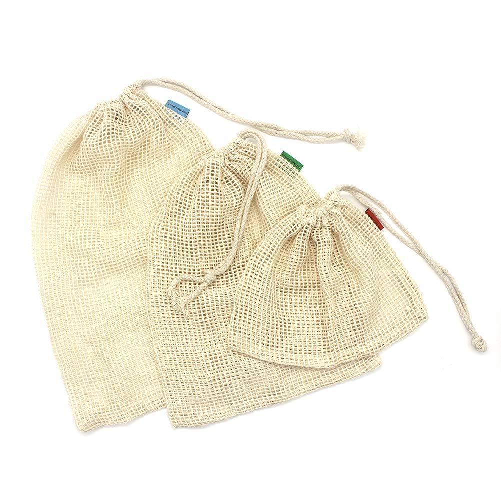 Bolsa de algodón reutilizable OneChois para frutas y verduras ...