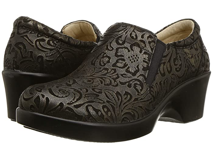 Alegria  Eryn (Bronze Swish) Womens Clog Shoes