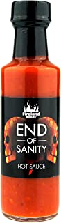 FIRELAND FOODS End Of Sanity Carolina Reaper Hot-Sauce, Chilisauce, 100ml