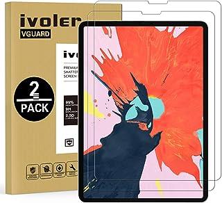 ivoler 2 stycken pansarglas skyddsfolie för iPad 10,2 tum 2021/2020/2019 (iPad 9./8/7:e generationen) / iPad Air 3/iPad Pr...