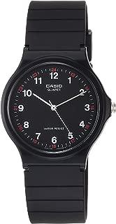 Casio Unisex-Adult Quartz Watch, Analog Display and Resin Strap MQ-24-1B
