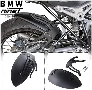 FATExpress R9T Motorcycle Parts Rear Mudguard Wheel Tire Hugger Plastic Black Mud Guards Fender Splash Guard for 2014-2018 BMW R Nine T Scrambler Pure Racer 2015 2016 2017 14-18