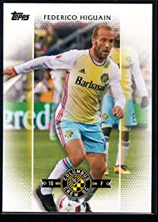 2017 Topps MLS Major League Soccer #90 Federico Higuain Columbus Crew SC