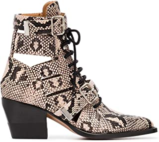 CHLOÉ Luxury Fashion Womens CHC18U00604091 Beige Ankle Boots | Season Outlet