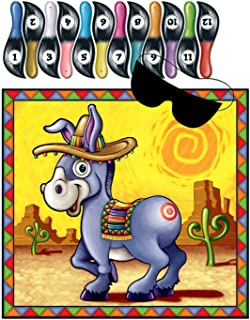 Donkey Game (mask & 12 tails included) Party Accessory, 1 piece