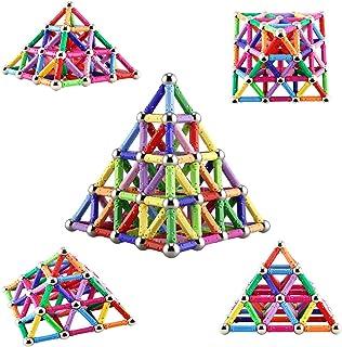 comprar comparacion Veatree Bloques Magnéticos de Construcción para Niños Palos Magnéticos 206 Piezas Juguete Educativo para el Desarrollo Int...