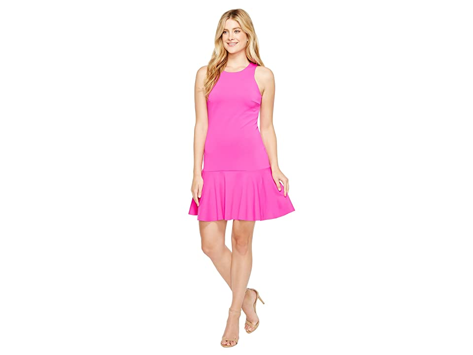 Trina Turk Fantastic Dress (Brilliant Fuchsia) Women