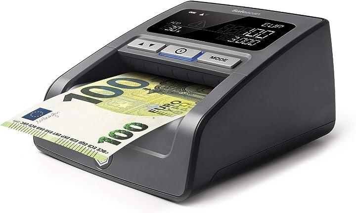 Verificatore banconote false per la verifica al 100% delle contraffazioni delle banconote safescan B00YS6A25K