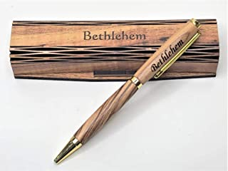 handmade wooden mondzo pen