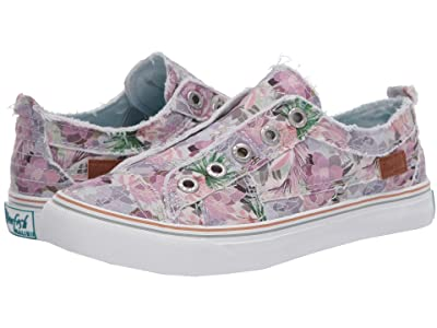Blowfish Play (Sweet Grey Superbloom Haze Print Canvas) Women