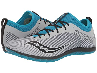 Saucony Havok XC2 Flat (Grey/Blue) Men