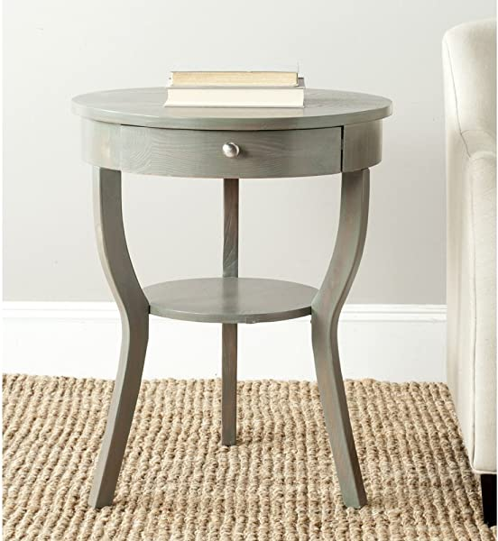 Safavieh AMH6620A American Homes Collection Kendra End Table French Grey