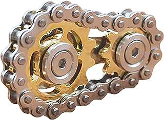 Fingertip Gyro Sprocket Fidget Spinner Toy Fidget Finger Hand Spinner Alloy Metal Bearing High Speed Spins Precision Metal...
