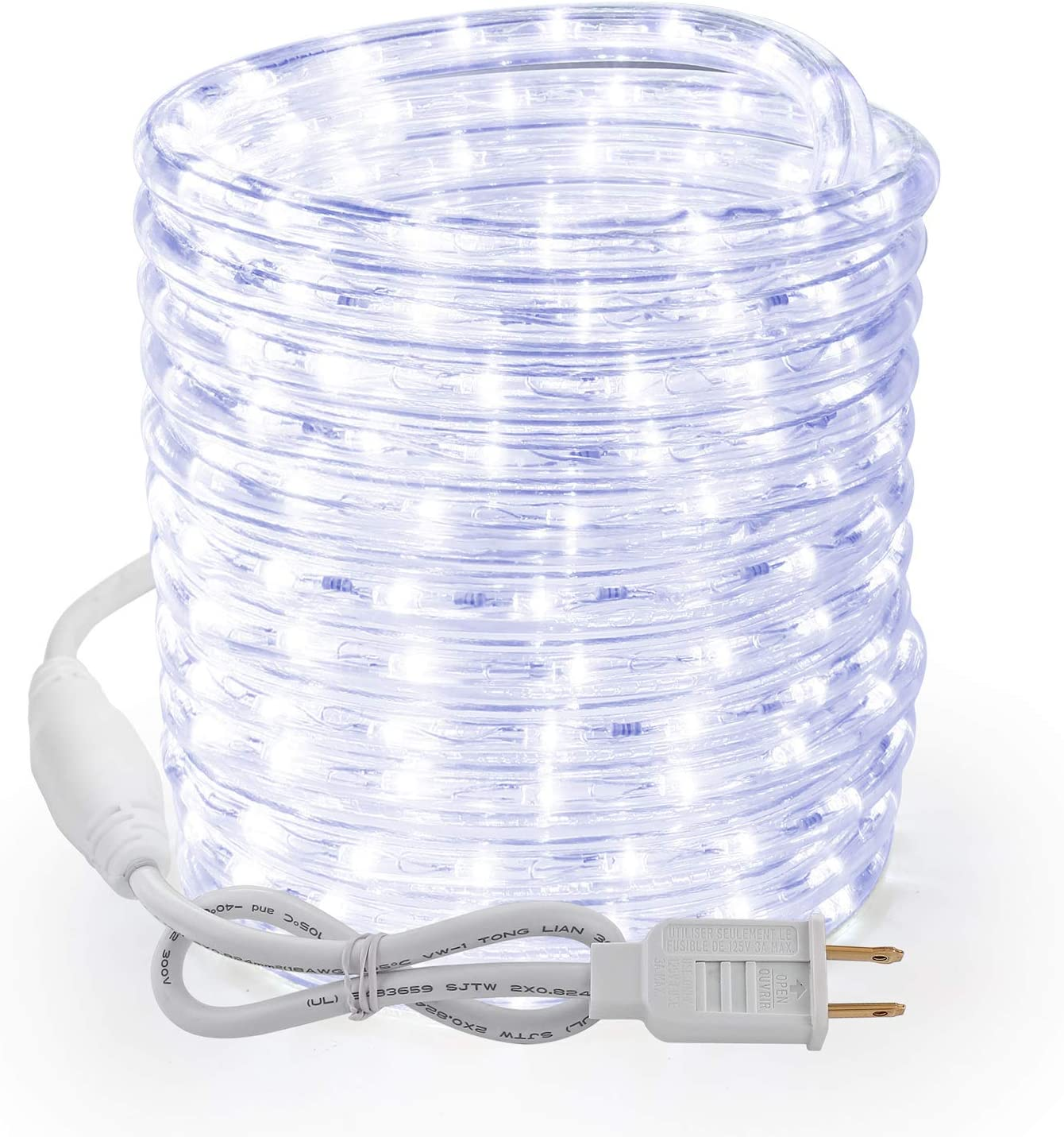 Brizled Rope Lights 51ft 612 Plugin Chris 120V Animer and price revision Max 89% OFF LED