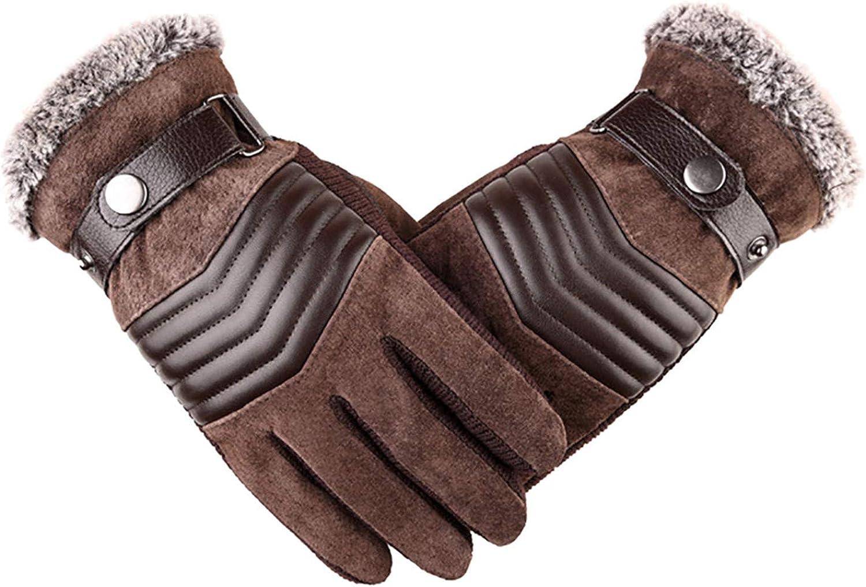 Winter Gloves for Men Women,Winter Cycling Ski Outdoor Gloves Telefingers gloves Waterproof Warm Gloves