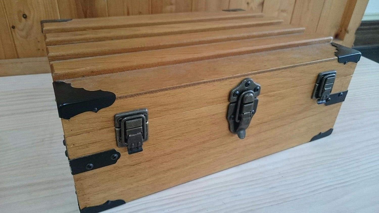 Antique Decorative Vintage Box Corner Guards Protectors Edge Cover, 20 Pcs (Pitch-Black)
