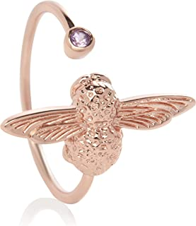 Olivia Burton Women'S Brass Rose Gold Rings -OBJAMR25