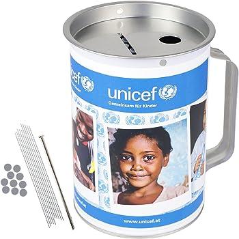 10 Plombenstangen für Spendendose Spardose Spendenbüchse Sammeldose Sparbüchse
