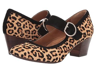 Sofft Lorna (Leopard Tan Horse Hair) High Heels