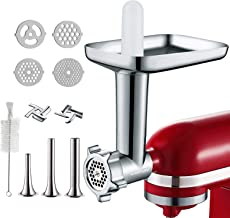 Metal Food Grinder Attachments for KitchenAid Stand Mixers, Cofun Meat Grinder Attachments for kitchenAid Mixers, Included...