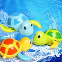 Bluelans Cute Cartoon Animal Tortoise Swim Wind Up Chain Clockwork Kid Bathing Toy for Kids Boys Girls Xmas Gifts Xmas Stocking Fillers Party Bag Gifts