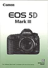 Canon EOS 5D Mark III Original Instruction Manual