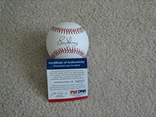 Evan Longoria Autographed Signed Memorabilia Oml Baseball - PSA/DNA