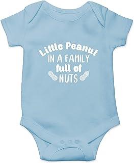 CBTwear, Little Peanut - Divertido Regalo para la Nueva Familia - Mono para bebé de una Sola Pieza