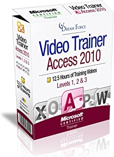 Access 2010 Training Videos - 12.5 Hours of Access 2010 training by Microsoft Office: Specialist, Expert and Master: 2000, XP (2002), 2003, 2007, 2010 and Microsoft Certified Trainer (MCT), Kirt Kershaw