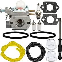 Panari 753-06190 Carburetor with Air Filter Fuel Line for Troy-Bilt TB22 TB22EC TB32EC Murray M2500 M2510 Bolens BL110 BL160 String Trimmer Brushcutter