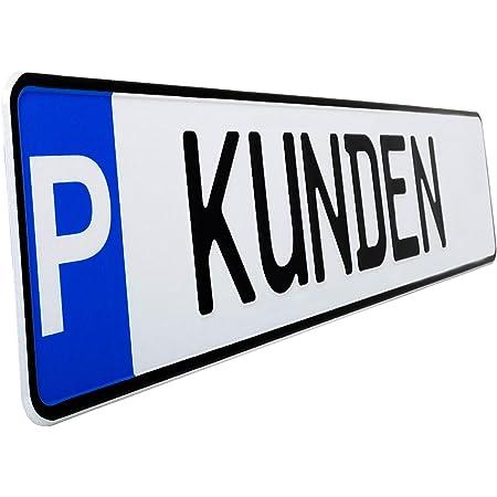 L P Car Design Parkplatz Kennzeichen 1 Stück P Kennzeichen Mit Der Prägung Kunden Parkplatzschild Markierung Von Parkplatz Standplatz Garage Parkplatzmarkierung 3 Kunden Auto